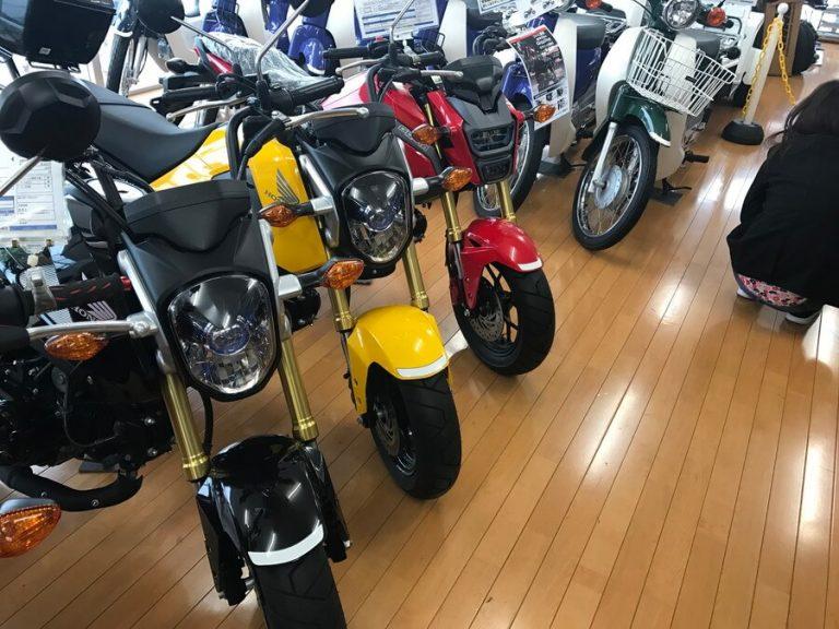 カスタム要素豊富なバイク エイプ